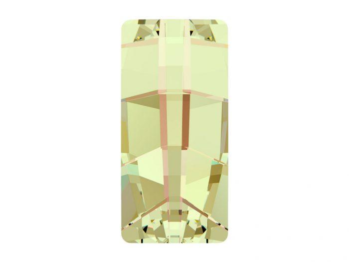 Kristāla akmentiņš Swarovski kvadrāts 4524 23x11mm - 1/2