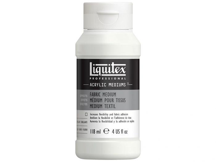 Akrüülvärvi meedium Liquitex Fabric