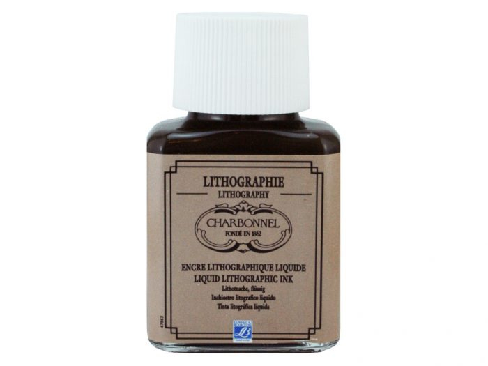 Lithography autographic ink Charbonnel