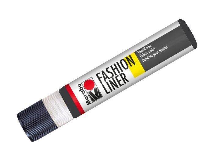 Tekstiilivärvi kontuur Marabu Fashion Liner 25ml - 1/3
