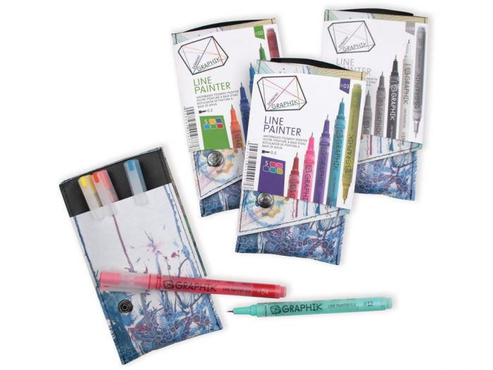 Marker Derwent Graphik Line Painter komplekt - 1/4