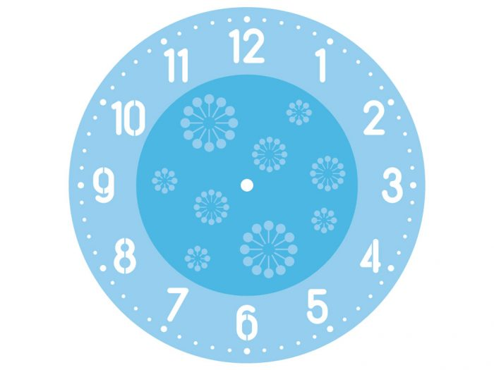 Šabloon Rayher Clocks d=30cm - 1/3