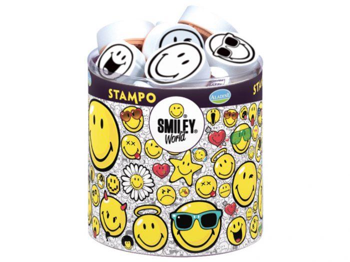 Zīmogu komplekts Aladine Stampo Smiley