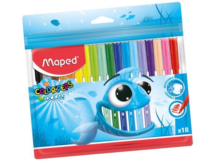 Viltpliiats Maped Color'Peps Ocean - 1/2