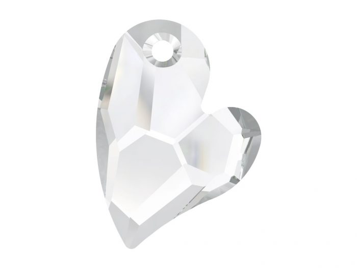 Pendant Swarovski heart 6261 27mm - 1/2