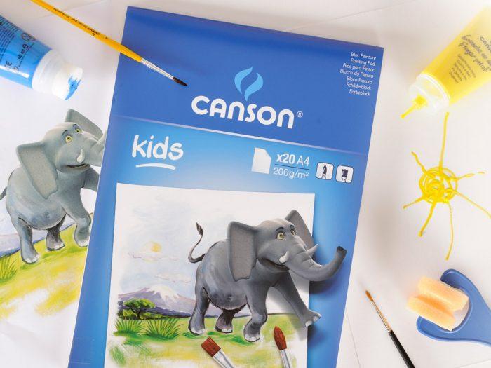Joonistusplokk Canson Kids 200g
