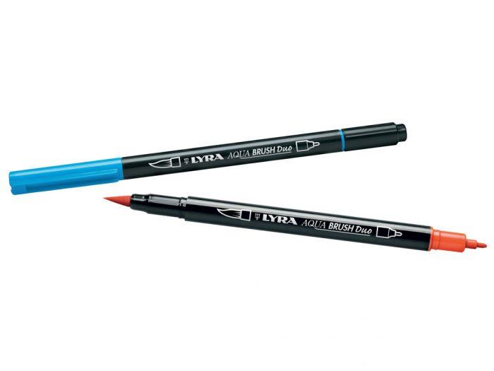 Viltpliiats Lyra Aqua Brush Duo