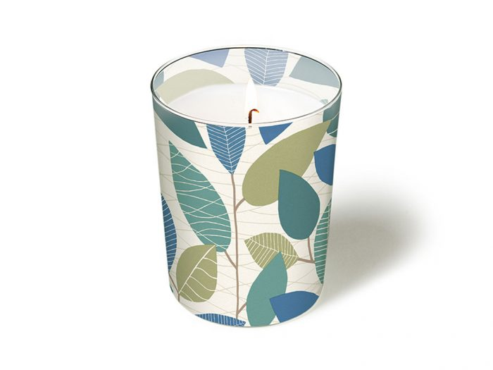 Žvakė stiklinėje Paper+Design apvali d=8.5cm h=10cm