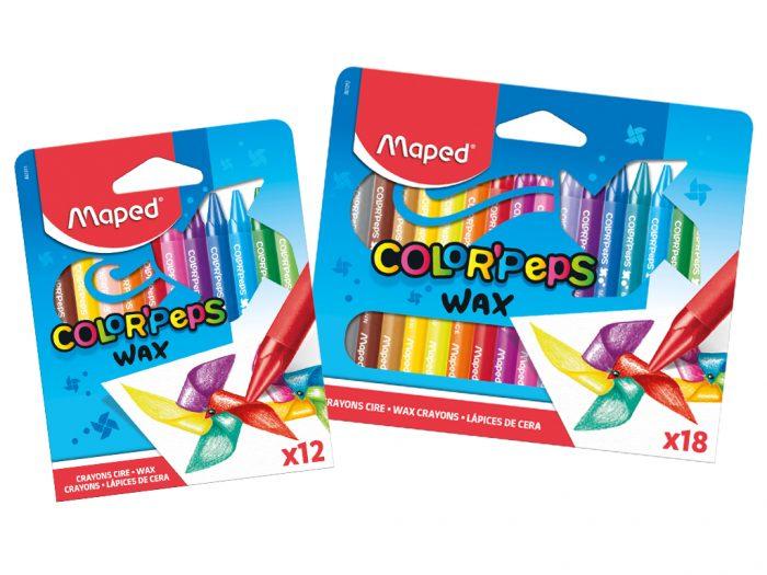Wax crayons Maped Color'Peps - 1/2