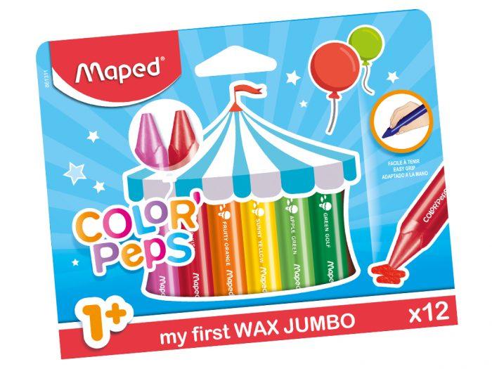 Rasvakriit Maped Color'Peps Early Age Jumbo - 1/2