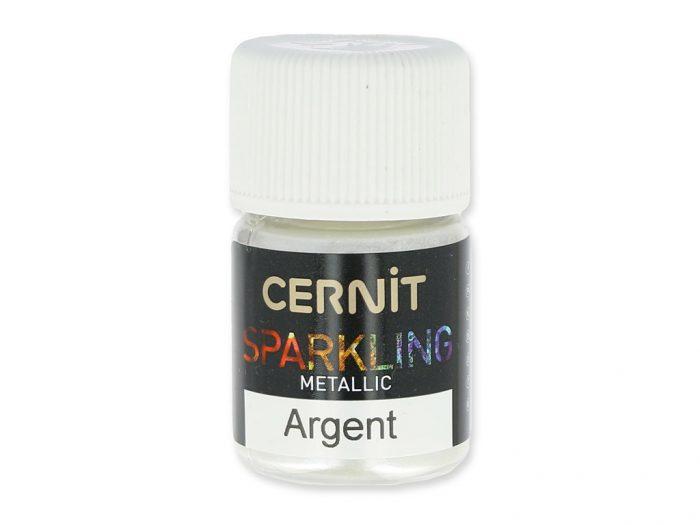 Žėrintys milteliai Cernit Sparkling Metallic