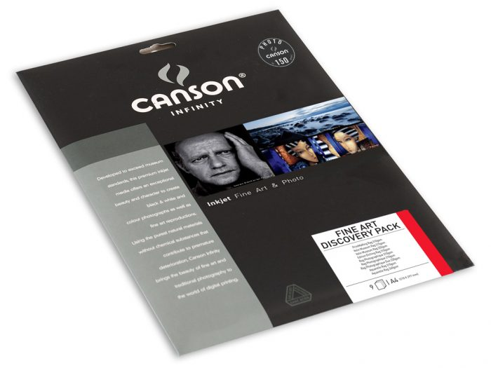 Fotopaber Canson Infinity Discovery Pack