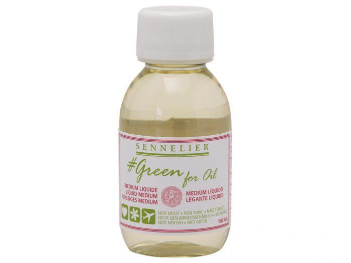 Õlivärvi meedium Sennelier Green for Oil Liquid