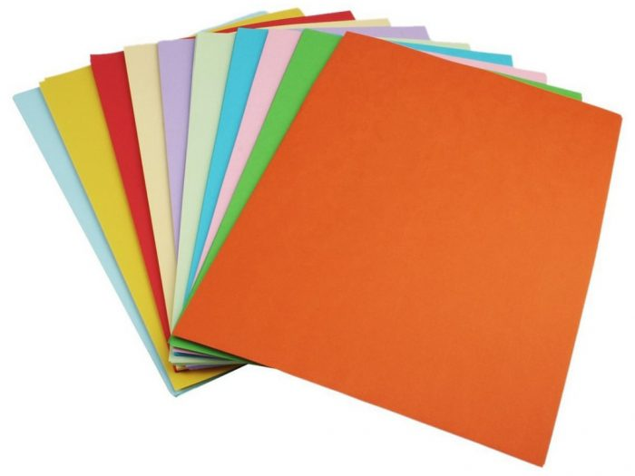 Krāsains papīrs Ursus 130g A4
