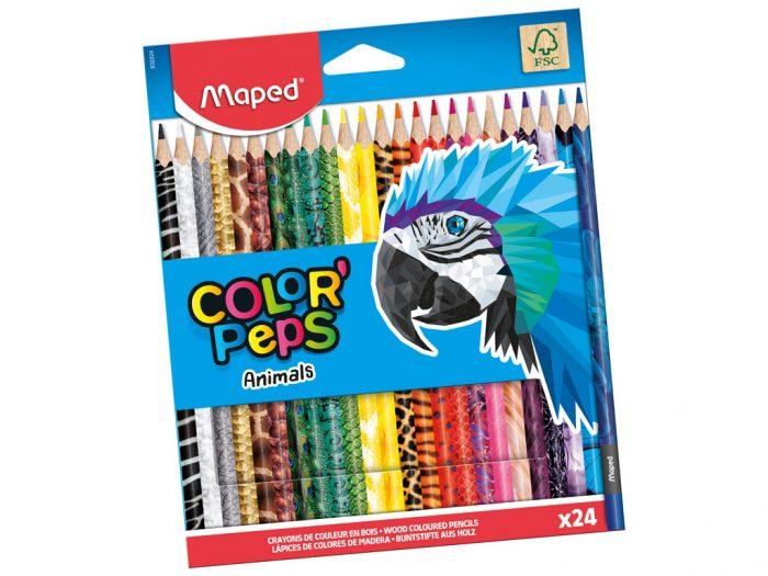 Värvipliiats Maped Color'Peps Animals - 1/2