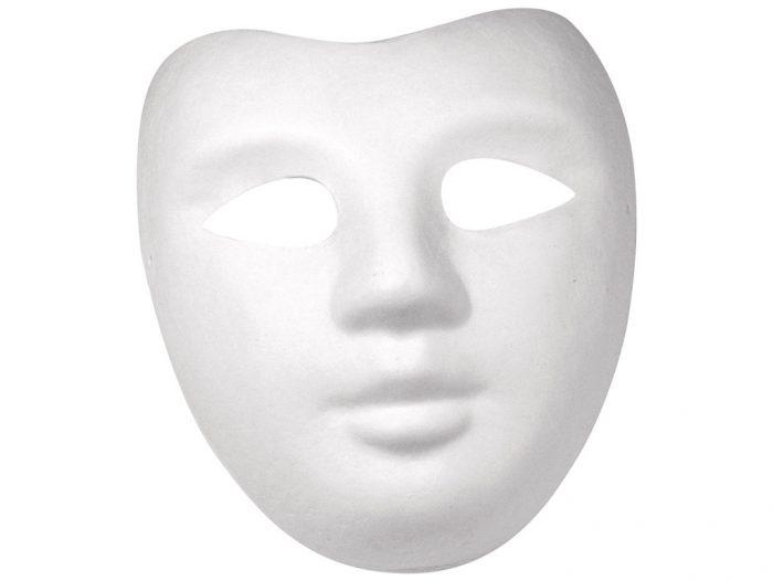 Maska Rayher ar gumiju balta - 1/5