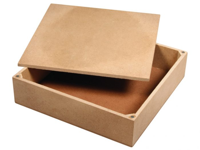 Box MDF Rayher with lid - 1/2