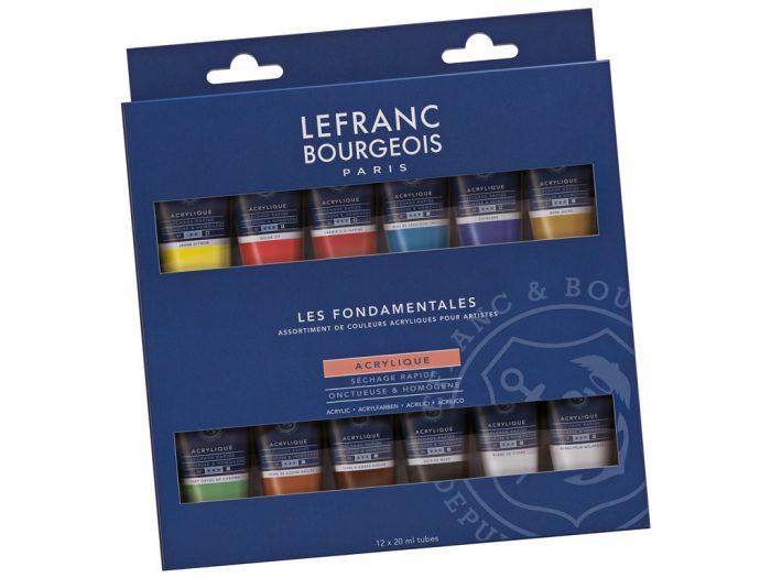 Acrylic colour set LB Fine