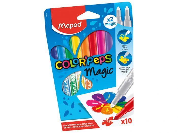 Flomasteris Maped Color'Peps Magic - 1/2