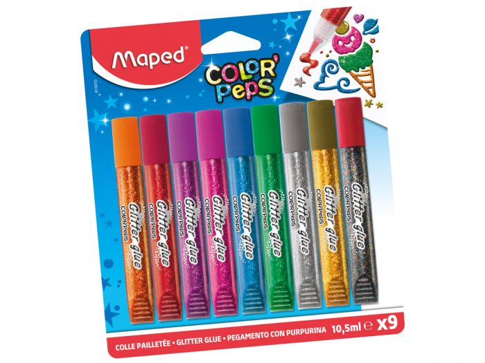 Līme ar glitteriem Maped Color'Peps - 1/3