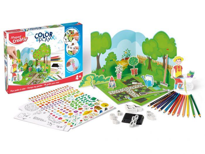 Meisterduskomplekt Maped Creativ Color&Play Design my Garden - 1/2