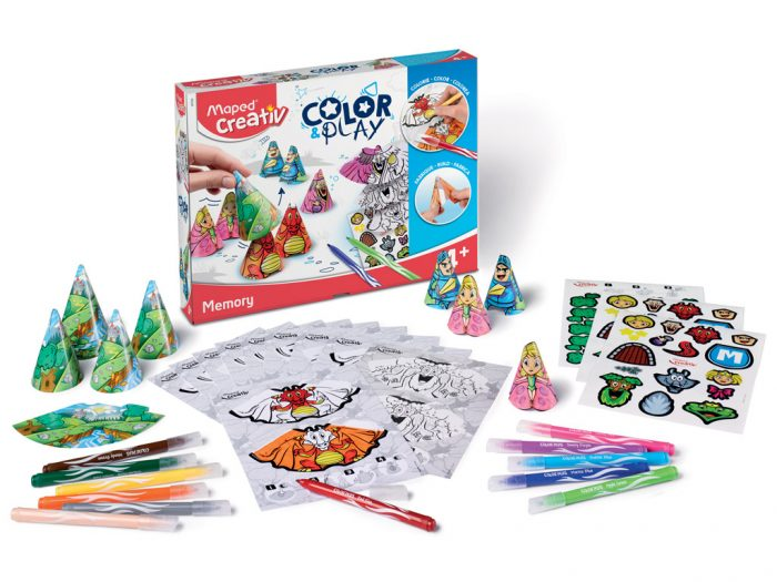 Meisterduskomplekt Maped Creativ Color&Play Memory - 1/5