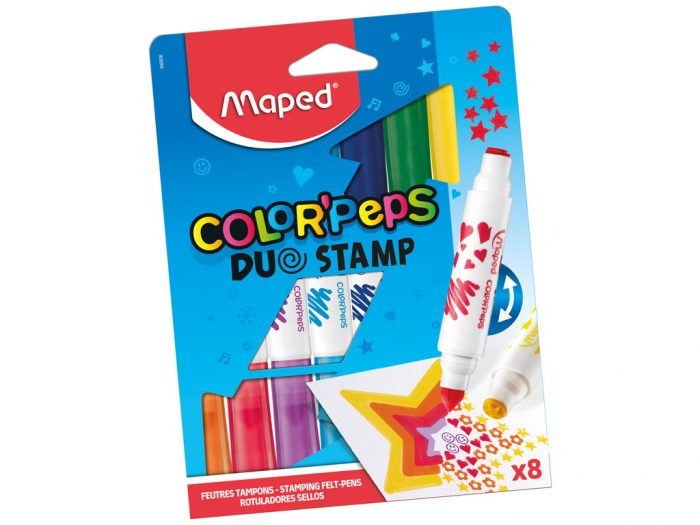 Viltpliiats Maped Color'Peps Duo Stamp - 1/3