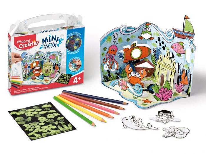 Crafting kit Maped Creativ Mini Box aquarium - 1/5