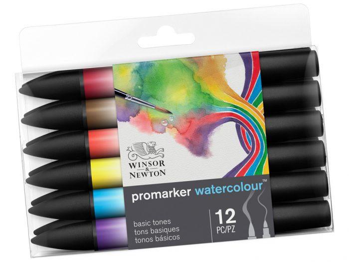 Akvarelinis markeris Winsor&Newton Promarker rinkinys - 1/2