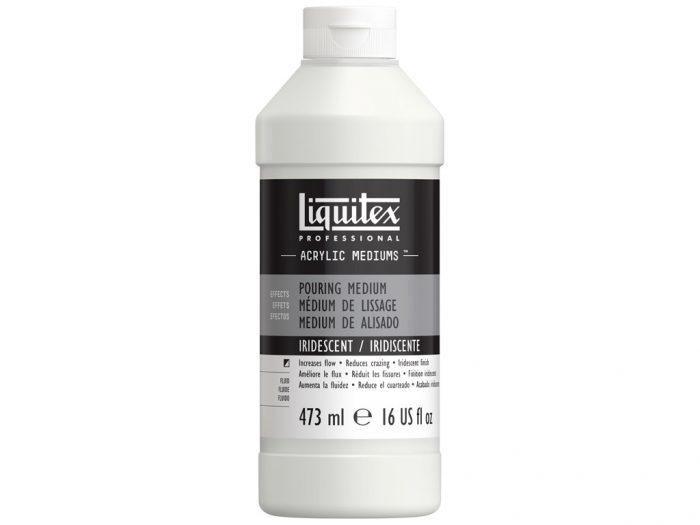 Akrüülvärvi meedium Liquitex Pouring Iridescent - 1/2
