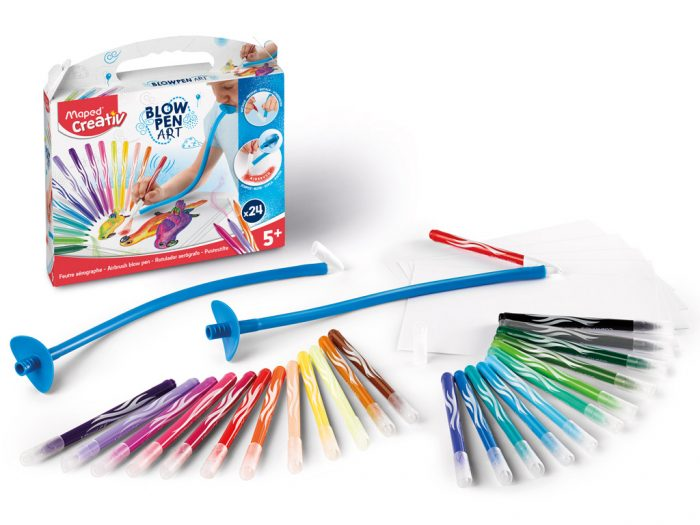 Puhutav viltpliiatsikomplekt Maped Creativ Blow Pen - 1/2