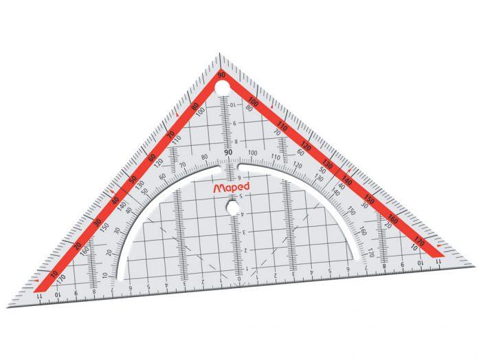 Kolmnurk malliga Maped Technic