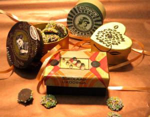 Senovinė dovanų dėžutė