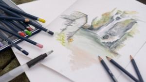 Akvarelinis pieštukas Derwent
