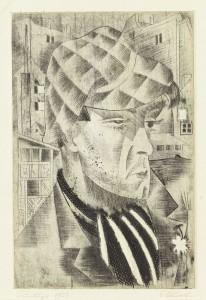 Apache, 1923. Eduard Wiiralt (1898–1954). Art Museum of Estonia