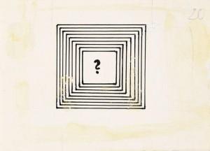 """Ülo Sooster. Illustratsioon V. Trostnikovi raamatule """"Füüsika: lähedane ja kauge"""""""