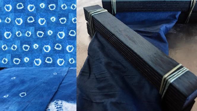Shibori ehk kanga värvimine Jaapani moodi